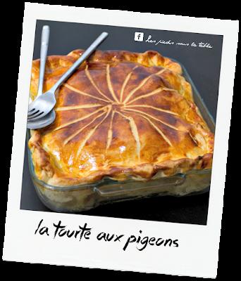 recette de La Tourte aux pigeons