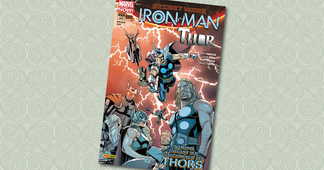 Iron Man Thor 09 Panini Cover