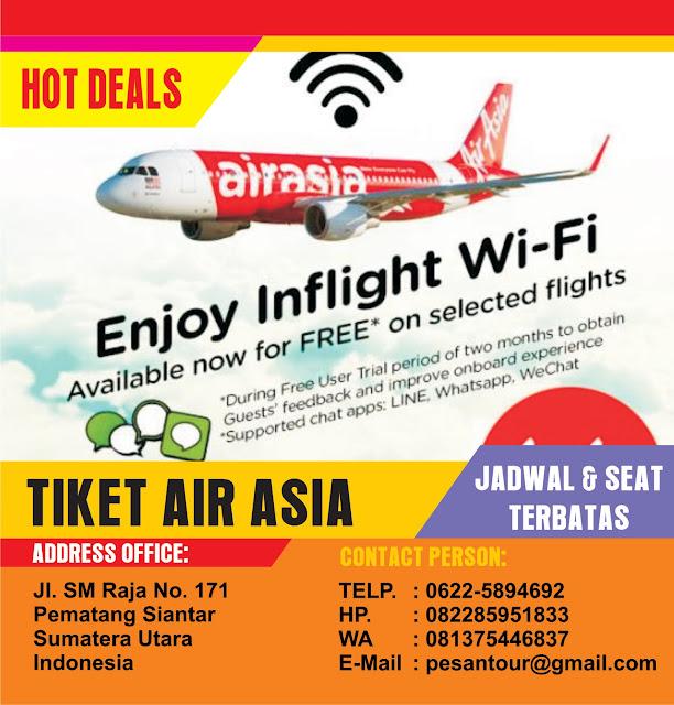 Tour And Travel Jual Tiket Promo Jasa Antar Jemput: PROMO TIKET AIR ASIA TERMURAH