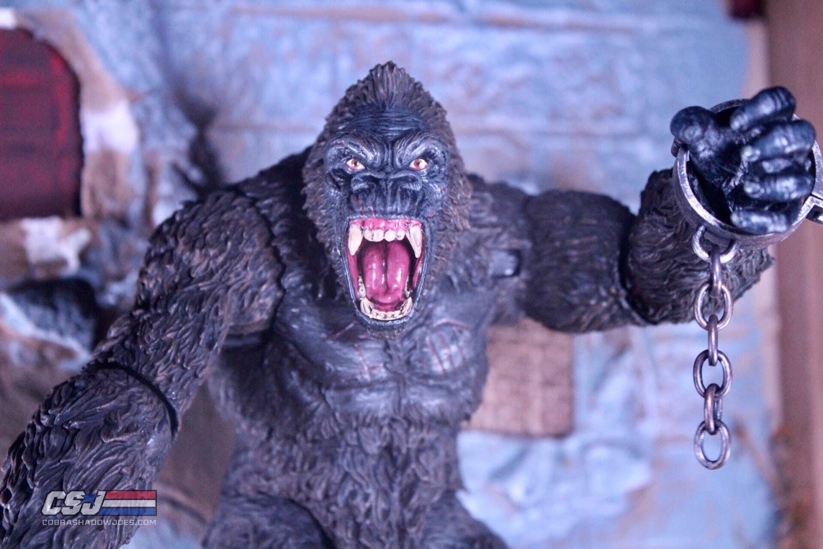 King Kong Of Skull Island Action Figure Mezco Toyz New 2018