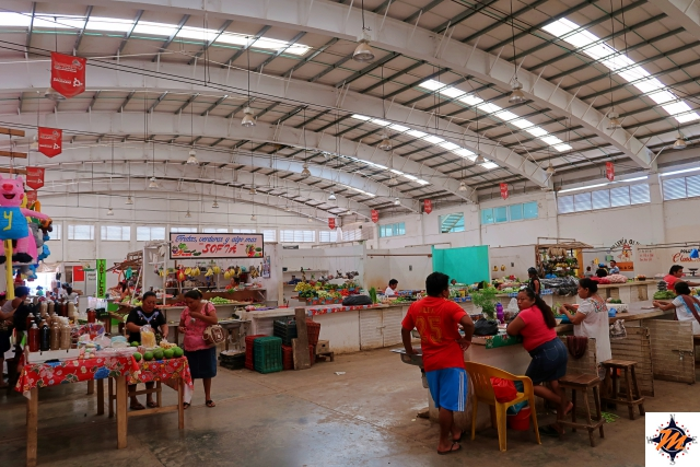Hecelchakán, mercado José del Carmen Obregon