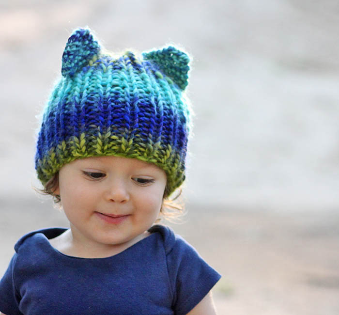 Free Knitting Patterns For Toddlers Hats : Free Baby Hat Knitting Patterns - Gina Michele