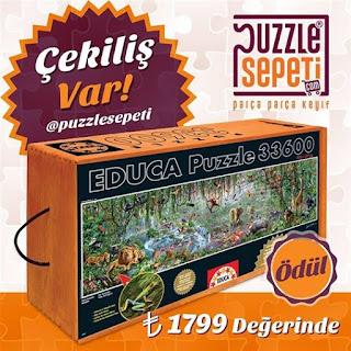 puzzle sepeti çekiliş