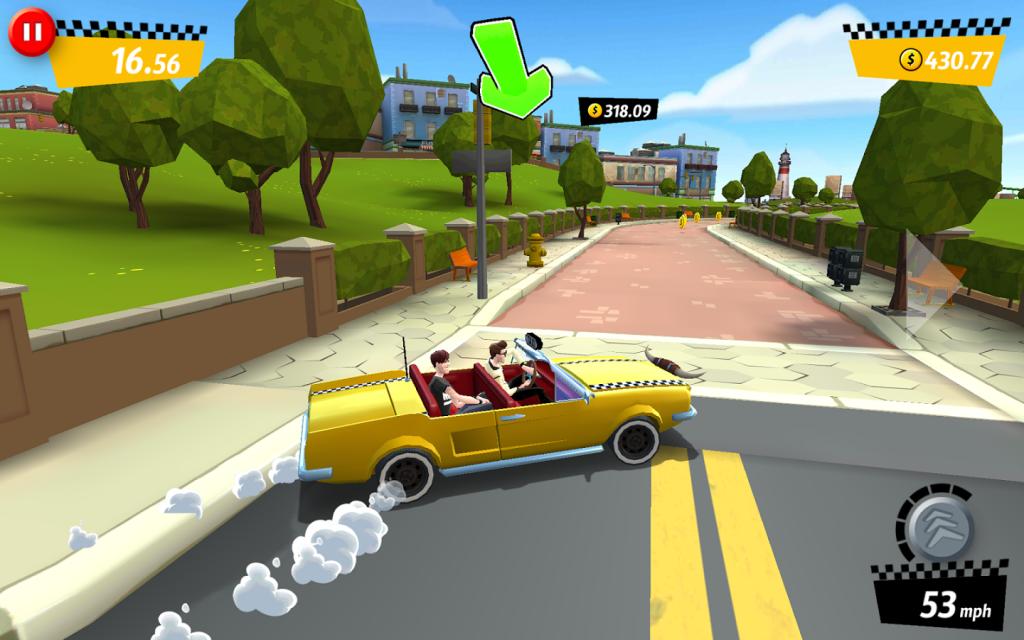 لعبة Crazy Taxi متاحة الآن للتحميل مجاناً على نظامى أندرويد و IOS