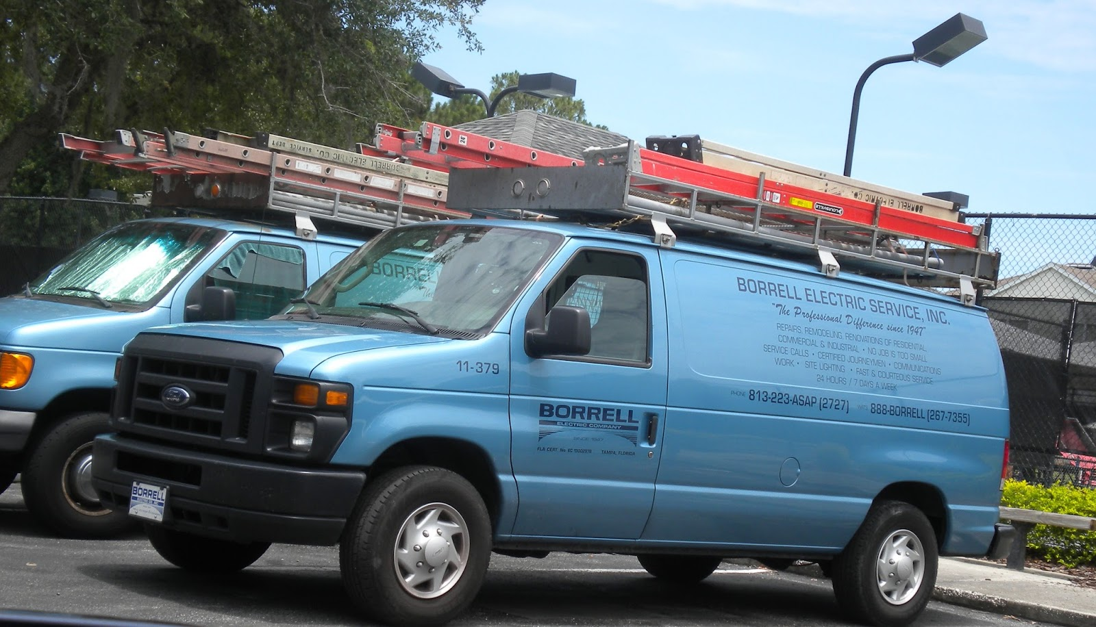 Commercial Truck Success Blog Electrical Company Vans