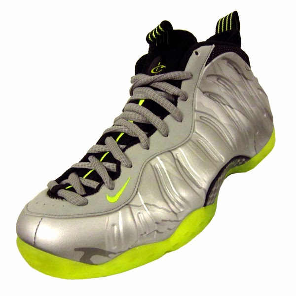 separation shoes 77640 5df20 Nike Air Foamposite One Premium. Metallic Silver, Volt, Black, Metallic  Clear Grey. 575420-004