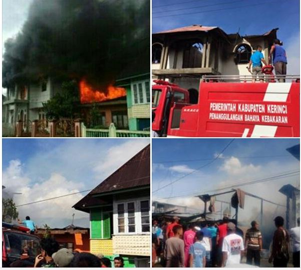 Kebakaran di Belui, Kerugian Ditaksirkan 2 M