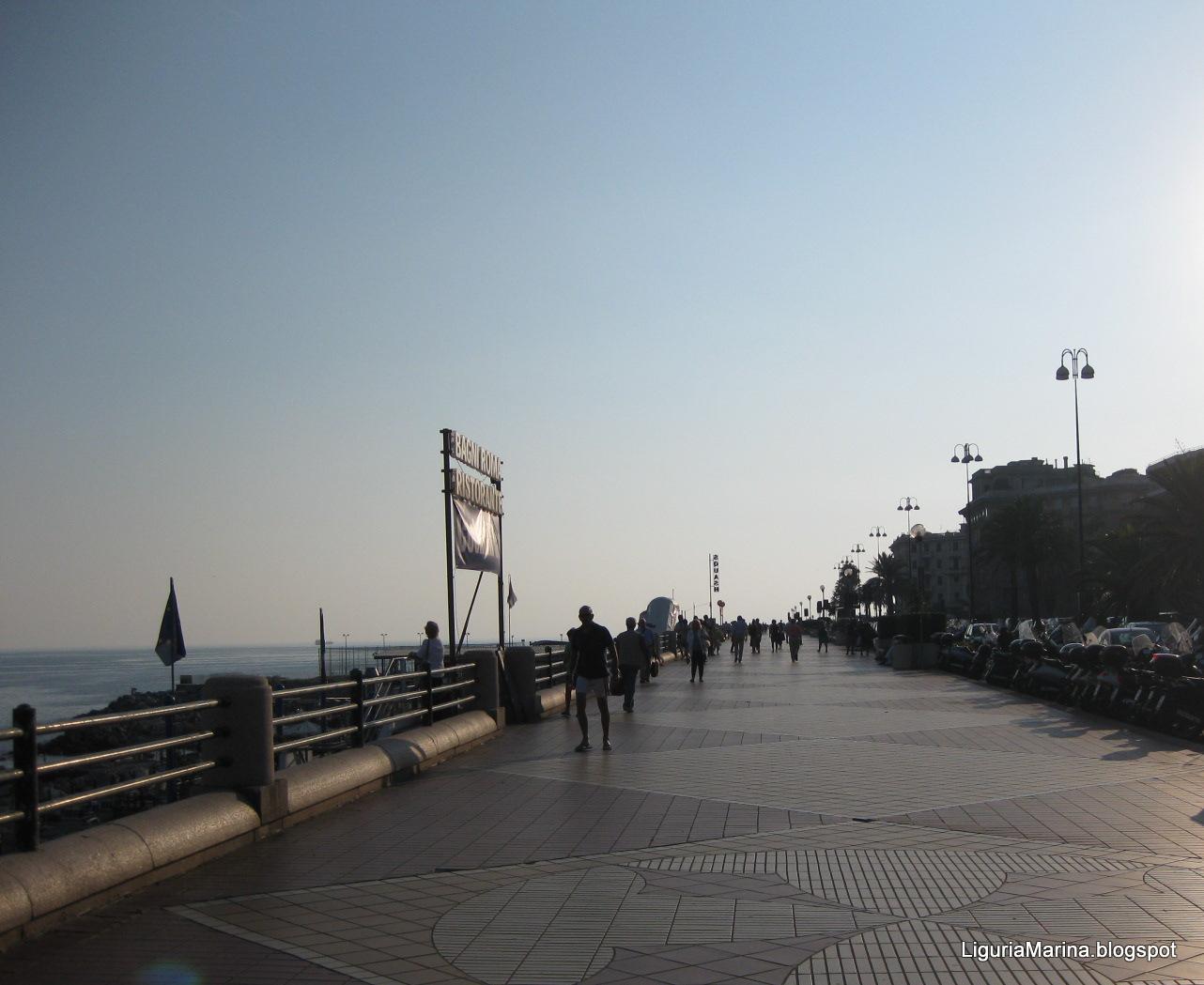 LiguriaMarina Genova  spiagge e mare