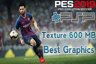 Download PES 2019 Super HD PPSSPP + Texture Savedata Update