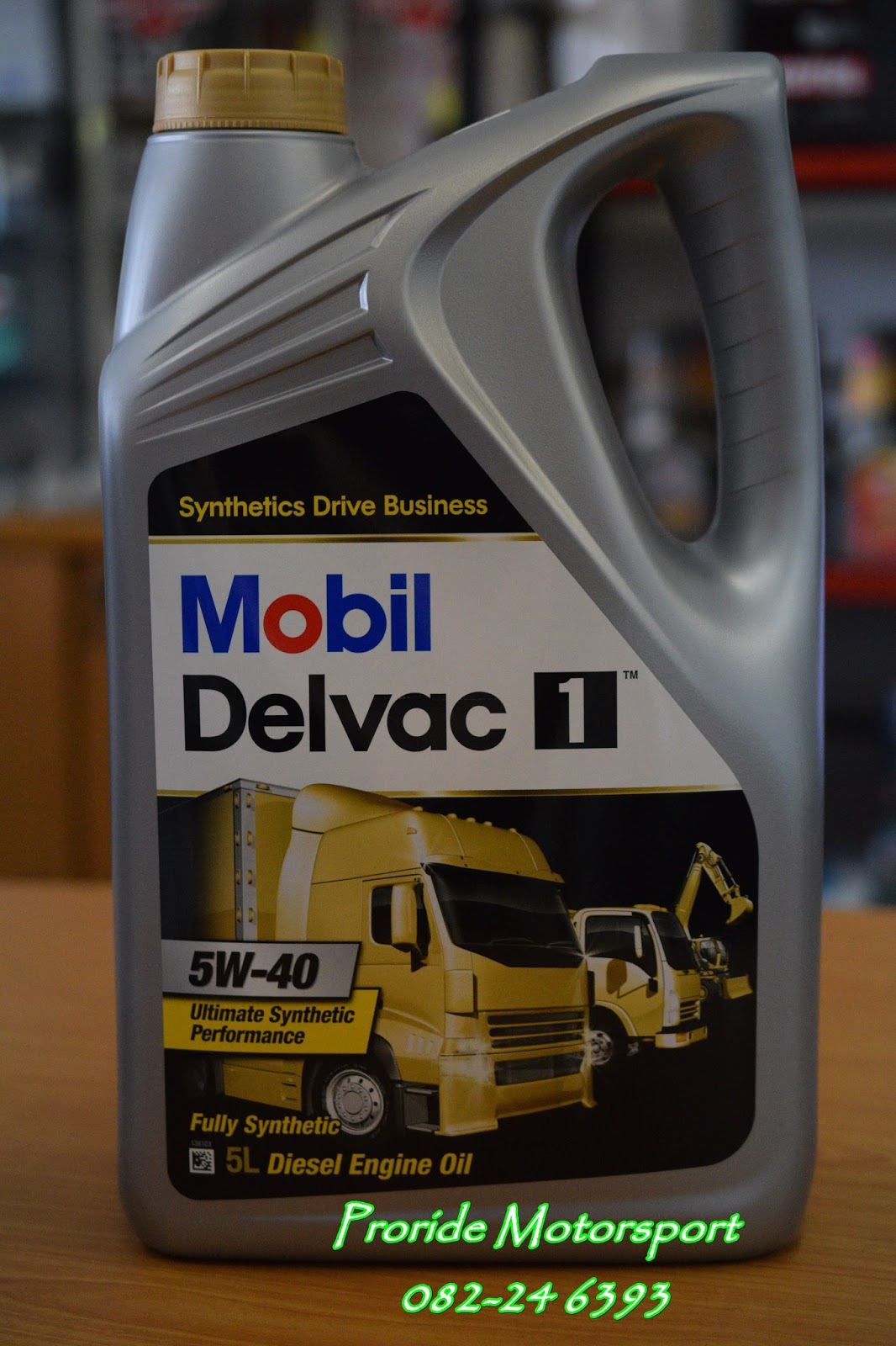 Pro ride motorsports mobil delvac 1 5w 40 high for Synthetic motor oil for diesel engines