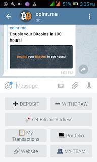 How to make money from telegram