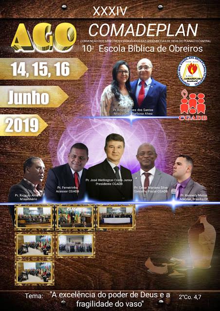 COMADEPLAN 2019 - 34ª AGO