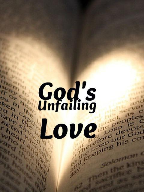 unfailing love bible verse