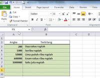 Cara Membuat Rumus Terbilang Sendiri Pada Microsft Excel