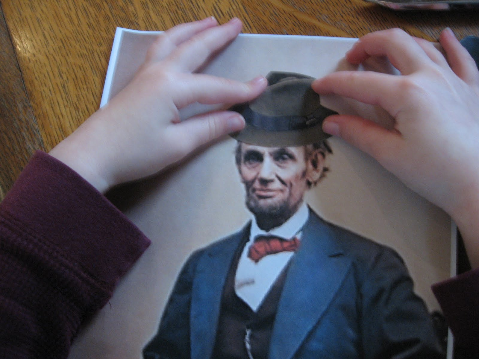 Almost Unschoolers Changing Abraham Lincoln S Hat