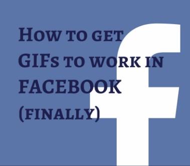 do gifs work on facebook