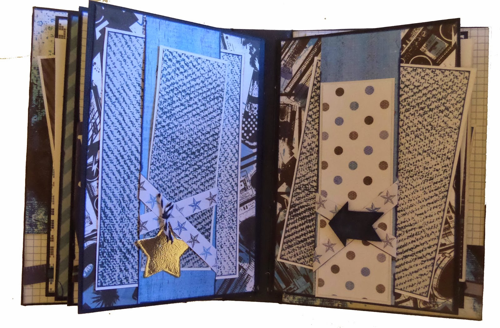 Off the Wall Smash Book Clare Charvill Jones Crafts DT Project Kaisercraft