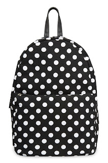 Polka Dot Canvas Backpack, Primark Haul