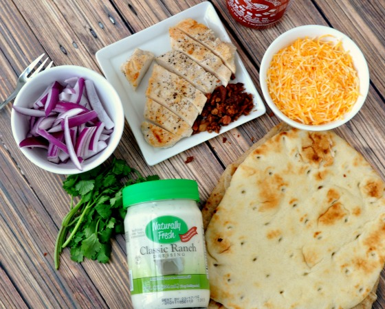 Chicken Bacon Flatbread Ingredients