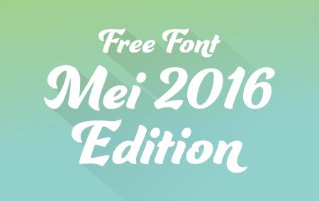 Download 22 Font Terbaru Gratis Edisi Mei 2016