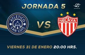 Atlético San Luis vs Necaxa en Vivo