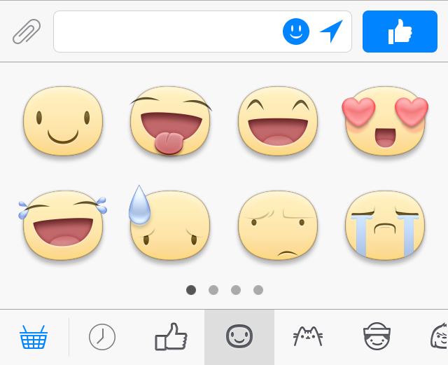 Facebook Messenger Sticker Bedeutung