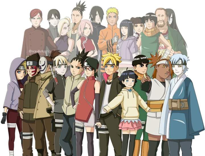 Can the characters in boruto match those in naruto - All naruto characters ...