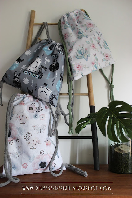Letnie worko plecaki