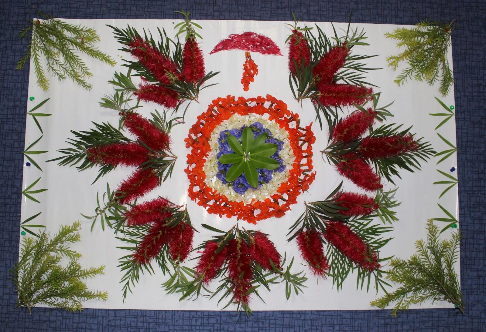 Flower Rangoli Designs for Diwali 2017 - Best Floral Rangoli ... for Flower Rangoli Designs For Diwali  174mzq