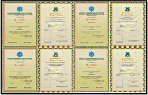 Aplikasi Cetak Piagam Sertifikat Penghargaan Siswa Sekolah SD SMP SMA SMK Terbaru