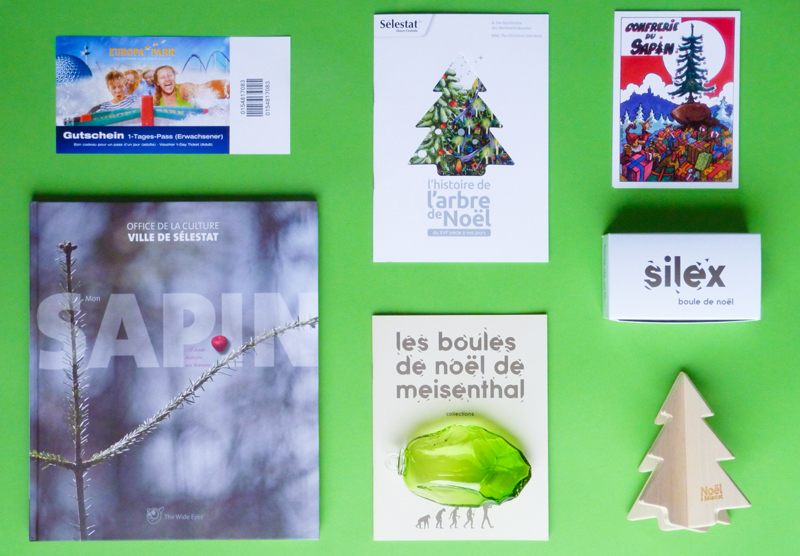 Voici les cadeaux offerts par la ville de Sélestat pour les vainqueurs du sapin de noël créatif 2015