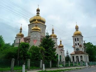 Ходоров. Храм святых бессребреников Космы и Дамиана.