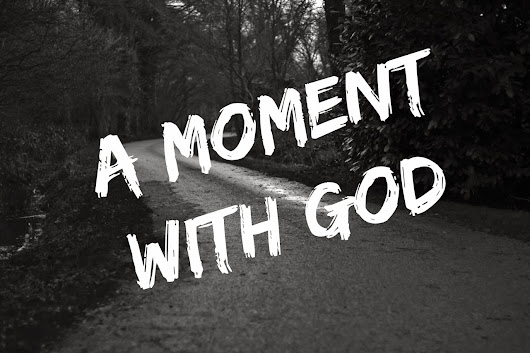 A moment with God: He doesn't let go