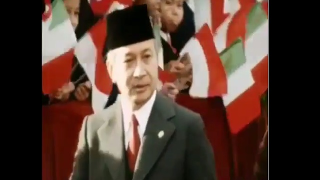 Merinding, Video Gagah dan Berwibawanya Presiden Soerharto Bikin Netizen Kangen