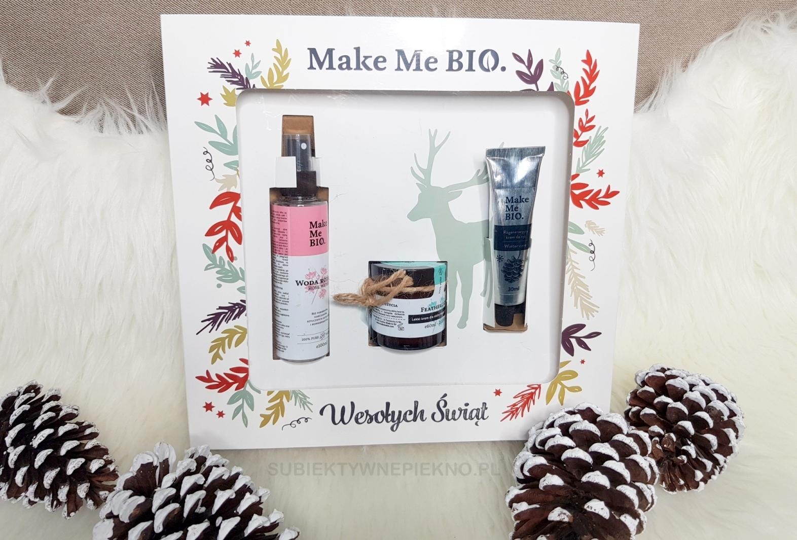 Świąteczny zestaw prezentowy Make Me Bio Featherlight