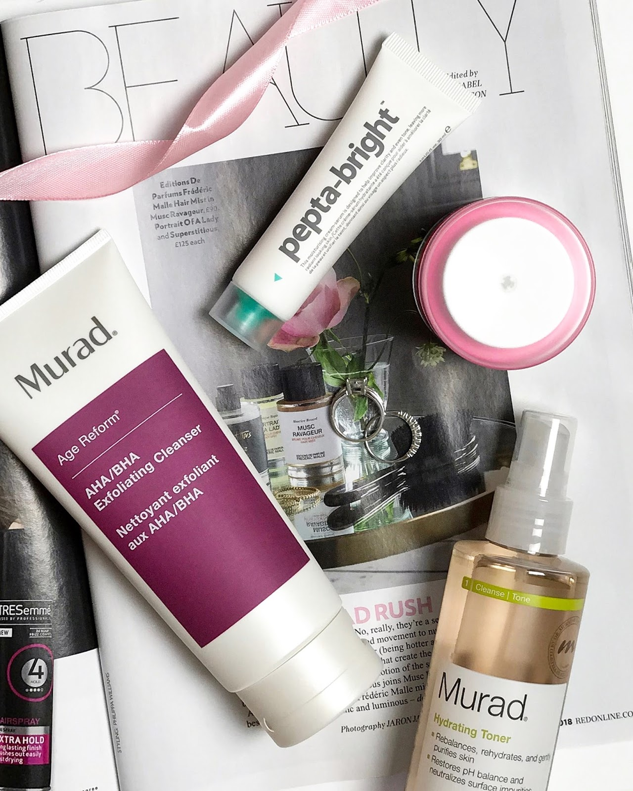 new in my skincare stash | murad & indeed labs
