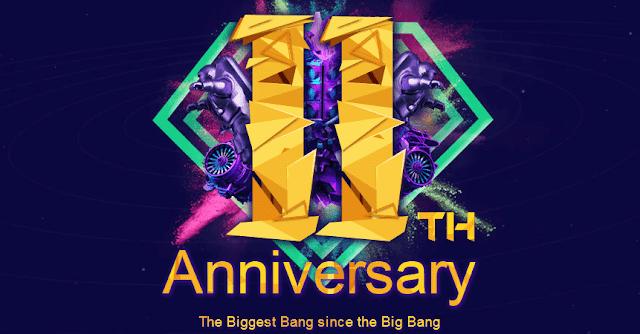 Świętujemy 11th Anniversary/urodziny sklepu BANGGOOD.