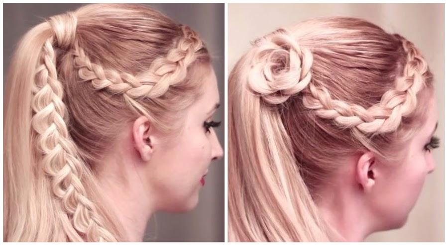 Los Mejores Peinados Con Trenzas YouTube - Mejores Peinados Con Trenzas