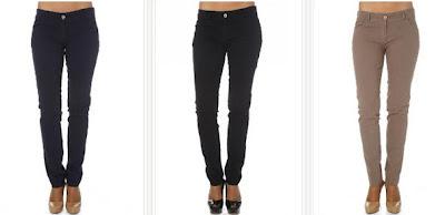 Pantalones negros o azul marino en oferta