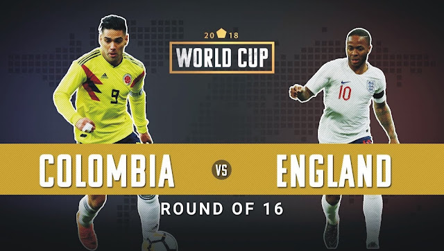 Image result for england vs colombia