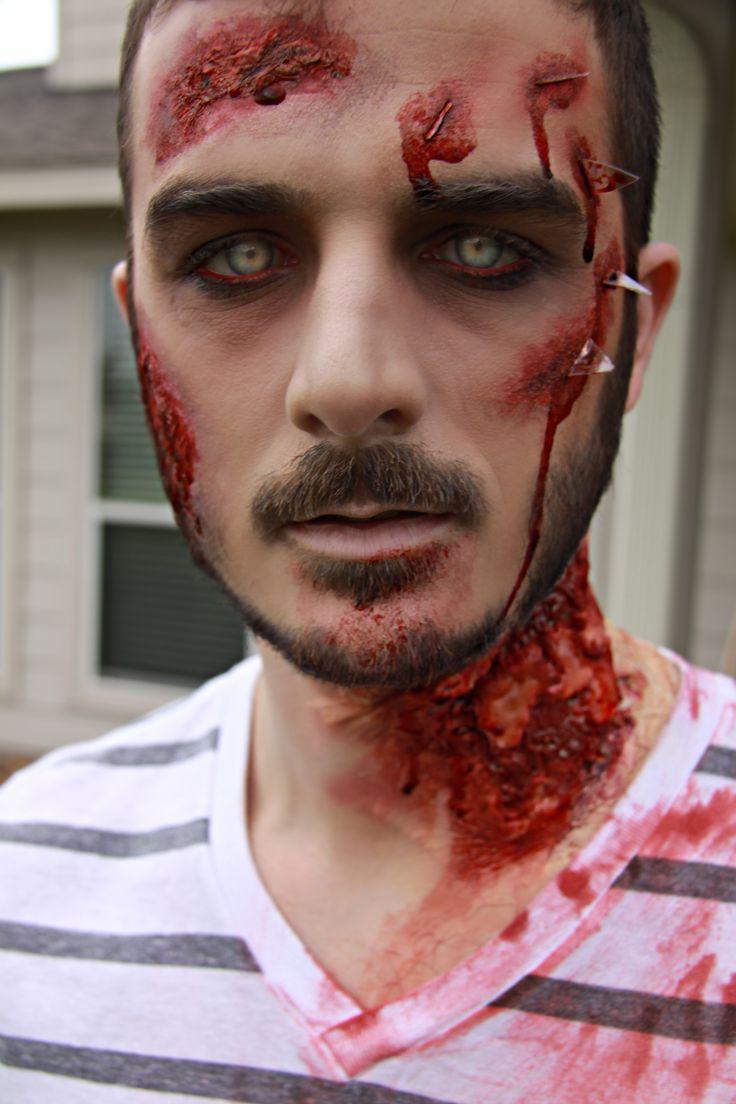maquiagem masculina halloween facil
