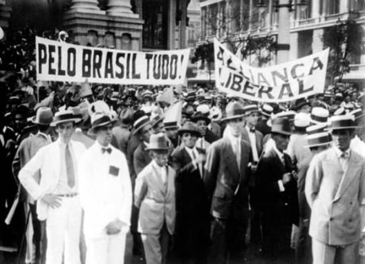 Aliança Liberal, Fim da República Velha no Brasil