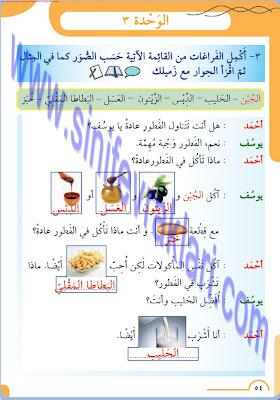 8. Sınıf Arapça Meb Yayınları Ders Kitabı Cevapları Sayfa 54