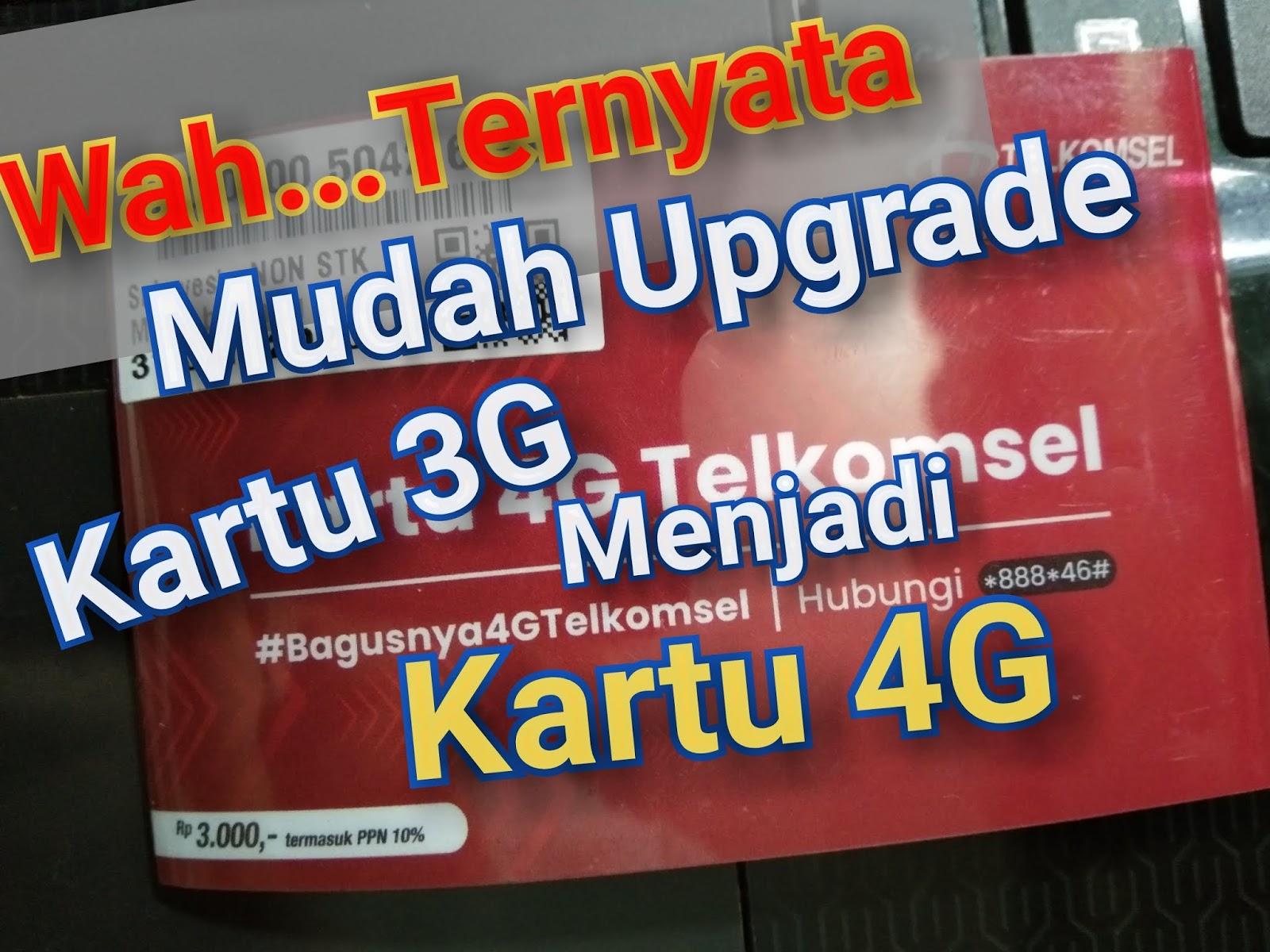 Cara Mudah Mengubah Kartu 3g Telkomsel Menjadi 4g Otoproid Com