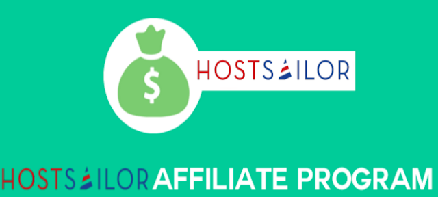 HostSailor Affiliate Program, HostSailor Affiliate