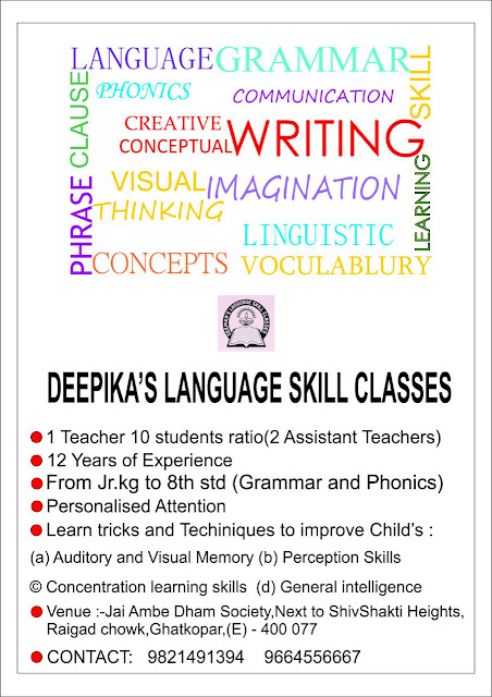 English Language Classes in Ghatkopar