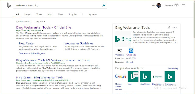 Submit Website To Bing is one of the best ways for SEO(Search Engine Optimization). You can increase your web traffic to submit website to bing or any other search engine. Bing is the third largest search engine in the world. So the largest number of users on the Bing. If you want to learn SEO, and How can You increase the traffic of your website with the help of bing. We describe here how can you submit website to bing and hike your web traffic with the simple way of SEO. According to Alexa rank Bing is raking 44 positions in October 2018. You can guess, How much Bing helpful for SEO purpose if you submit to Bing website.
