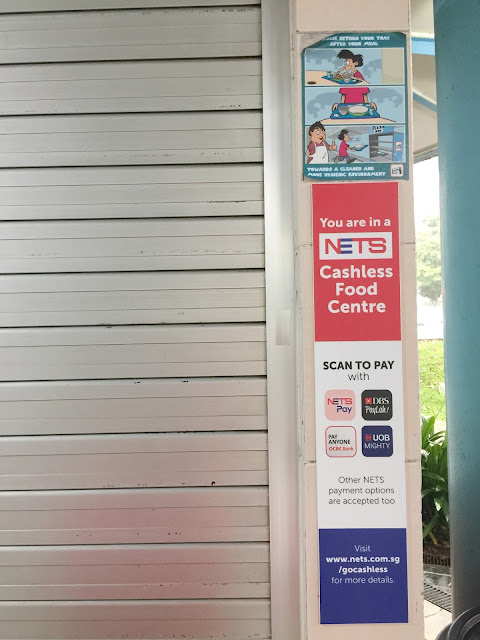 How to use DBS PayLah in hawker centre singapore