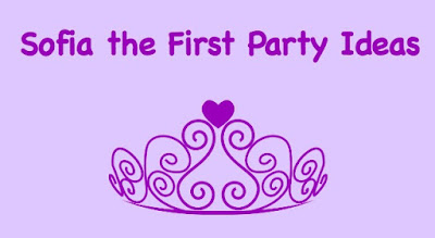 Sofia the First party ideas for your little princess. Games, food to serve and crafts to make.