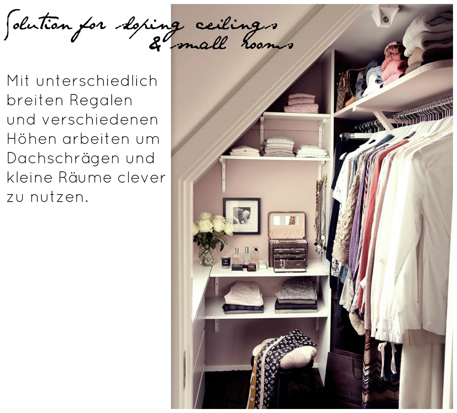 INTERIOR] 7 ideas for your walk in closet - The Blonde Lion ...